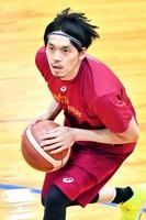 バスケットボールの男子日本代表として活躍する北陸高校出身の篠山竜青選手