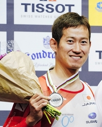 自転車の脇本雄太、東京五輪代表決定