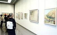 ■日本画愛好家グループ「爽和会」は59点 作品展