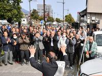 福井県議選、10人が無投票当選