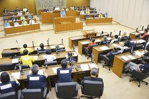 2018年9月の福井市議会本会議