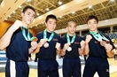 鯖江が体操男子団体で3位、総体