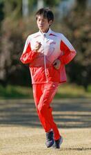 五輪マラソン代表中村が練習公開