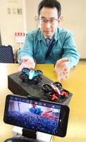 障害者や子ども向けのドローン教室開催を目指す北山政道さん=福井県小浜市の福井新聞小浜支社