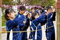 【120敦賀開港】光の祭典 みんなで準備 来月「ミライエ」 高校生が作業