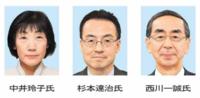 知事選 3月21日告示 異例対決 県政針路は 西川氏と杉本氏 自民混乱 中井氏出馬、共産も模索 2019選挙ふくい