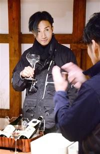 「EXILE」橘さん 福井の酒探究 雑誌連載で取材 酒蔵巡り文化触れる