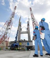 打ち上げ翌日の発射台公開