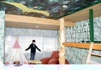 勝山市のホテルに「恐竜ルーム」完成