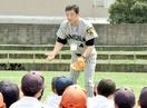 決勝進出の若狭、川藤幸三さんOB