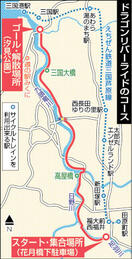九頭竜川沿い 福井-坂井20キロ 自転車で楽し…