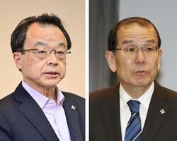 林真琴氏(左)、稲田伸夫氏