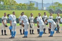 【写真】高校野球、福井商業―美方