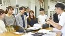 鯖江の眼鏡作りに刺激 京都精華大生が会社見学