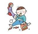 子どもの肥満2種類、対策早めに