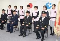 被災者守る看護師入団 永平寺町消防団 7人任命 健康や心をケア
