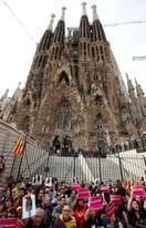 カタルーニャで大規模デモ