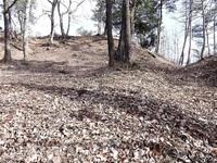 茶臼山城跡(南越前町) 杣山の出城 守り堅固 ふくいの山城へいざ(50)