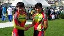 国体自転車女子福井2位「悔しい」