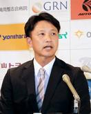 二岡氏、BC富山の監督就任会見