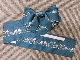 小杉織物の「ワンタッチ浴衣帯」(レディーフォー提供)