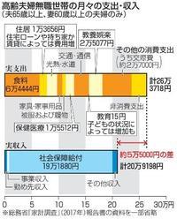 「大型サイド」金融審議会報告書 老後、何千万円必要?