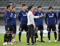 W杯後の初戦へ日本代表始動