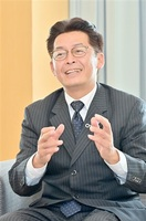 「コロナ対応 最優先」 佐々木鯖江市長が来社