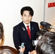 滝波宏文氏、会長人事異議を謝罪