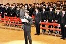 金井学園で成人式、大人の自覚新た