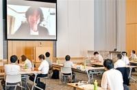 【考福塾】第8期研修会スタート 将来向け新しい挑戦を 小林塾長(若狭町出身)呼び掛け