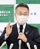 学校再開5月中は厳しいと福井県知事