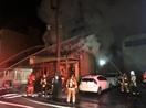 福井の繁華街「浜町」で火事