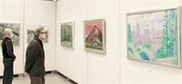 日本画やデッサン受講生が成果披露 県立美術館