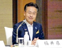 しらさぎ増便要望へ 北陸・中京アクセス向上策 中部圏知事会議 杉本知事が提言 つながる北陸新幹線