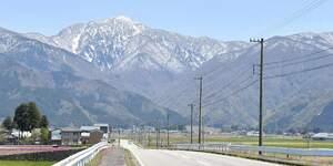 福井県大野市の荒島岳
