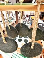最盛期を迎え、次々と作られるばんこもち=1月30日、福井県池田町土合皿尾の町そば道場