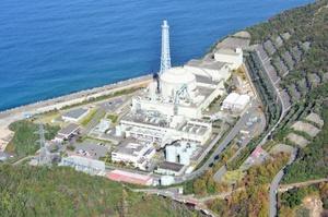 廃炉が決まっている日本原子力研究開発機構(原子力機構)の高速増殖原型炉もんじゅ=福井県敦賀市
