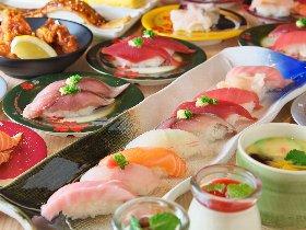 スタンダードから創作まで幅広く 旬を味わう回転寿司