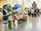 【こちら東京】新幹線乗り北陸へ 上野駅でアピー…