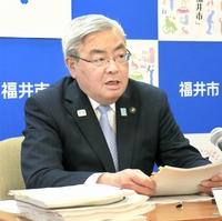 福井市長選は「もうちょっと整理」
