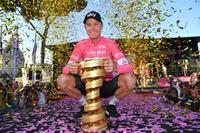 自転車レース、フルーム総合優勝