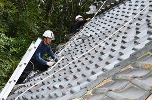 相次いだ災害、屋根工事業者悲鳴