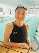 水泳の長岡三重子さんが死去