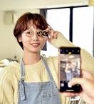 石田一帆さんインスタ鯖江眼鏡の旅