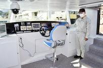 三方五湖の電池遊覧船、内部公開