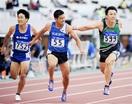 全日本実業団陸上 男子100 岩崎(ユティック…