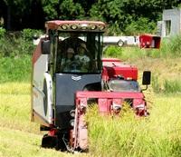 コンバイン稲刈り挑戦を 来月7日、小浜で体験会 先着25人募る