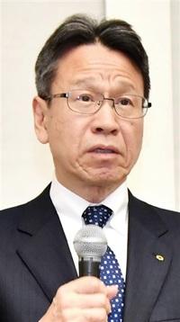 事業への理解訴え 岩根前社長ら 県民に謝罪