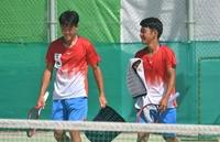 【インターハイ写真特集】テニス男子複の北陸